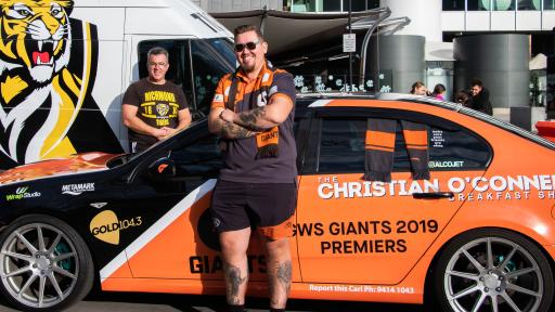 Crawf Rides With Melbourne's Craziest Footy Fans