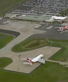 Massive Qantas A380 Forced To Make Landing At Avalon Airport