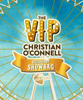 The VIP Christian O'Connell Breakfast Show Bag