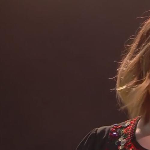 Adele's Powerful, Profanity Filled Performance