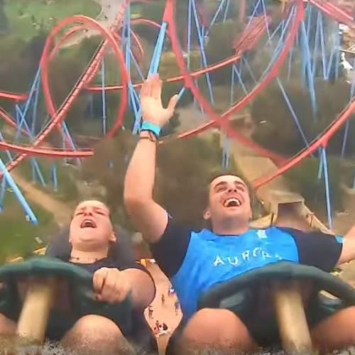 This Bloke Totally Caught A Phone During Rollercoaster Ride