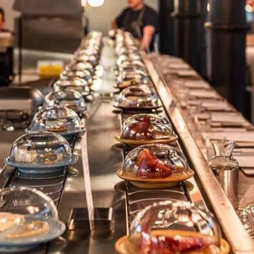World's First Cheese Conveyor Belt Restaurant Opens