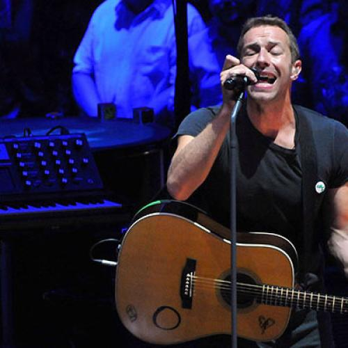 The Moment Coldplay's Chris Martin Is Upstaged By His Kids