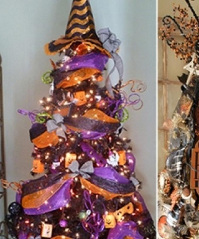 Halloween Christmas Tree.Halloween Christmas Trees Are A Real Amazing Thing