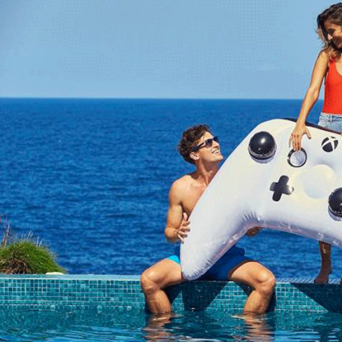 Microsoft Unveils Inflatable Xbox Controller