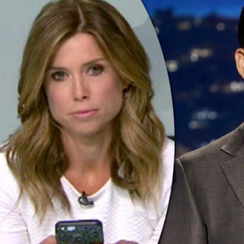 Amber Sherlock Gets Mocked By Jimmy Kimmel Over Tv Meltdown