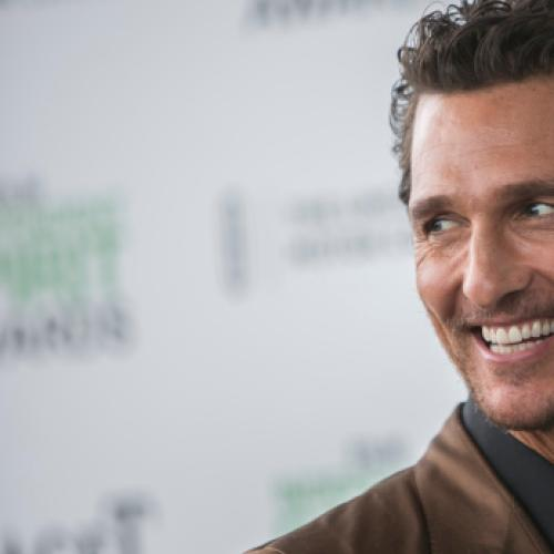 Matthew McConaughey Gives Christian The Best Life Advice He's Ever Received