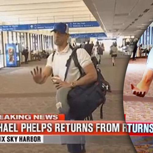 Awkward Michael Phelps Encounter Reporter Wasn't Ready For