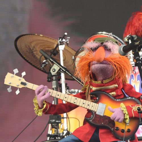 The Muppets Band Play Live At A Music Festival