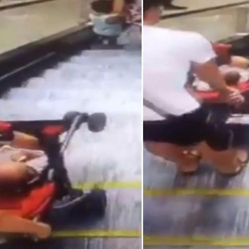 Shocking Footage Shows Why Prams Don't Belong On Escalators