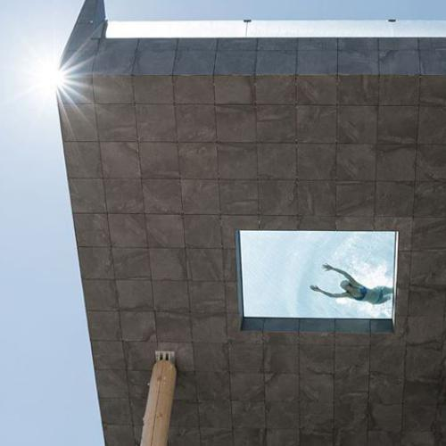 The World's Scariest Swimming Pool Is Ridiculously High