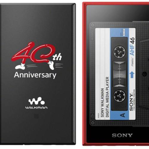 The 40th Anniversary Sony Walkman Is A Modern Take On An Icon