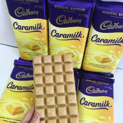Cadbury Is Giving Out Free Blocks Of Caramilk Chocolate Tomorrow