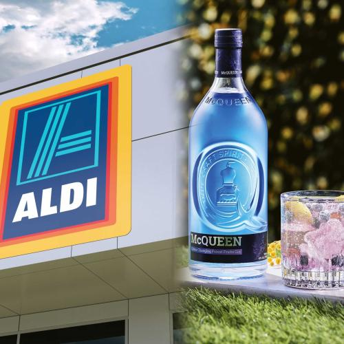 ALDI's Latest Special Buy Is A Gin That Changes Colour