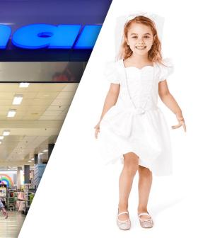 "Kmart Forced To Remove $6 Kid's Bridal Costume From Shelves After Being Accused Of ""Promoting Child Marriage"""