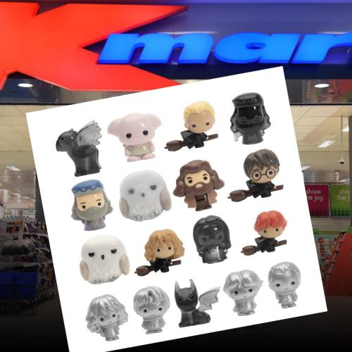 Kmart Has Just Rolled Out Harry Potter Ooshie-Style Collectibles