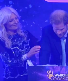 Prince Harry Breaks Down In Tears While Giving Speech About Parenthood