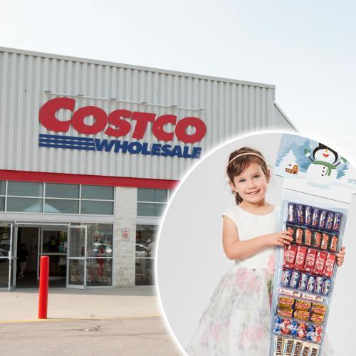 Costco Has Released A 1.3 Kilo Christmas Chocolate Stocking