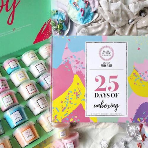 A Gourmet Fairy Floss Advent Calendar Exists And We Need One