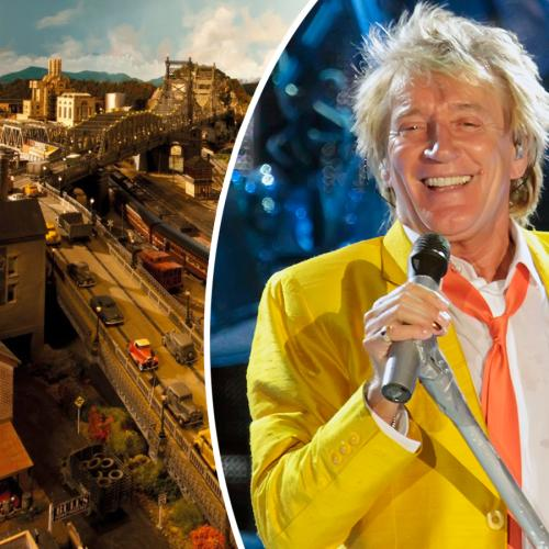 Rod Stewart Showcases The Epic Model Railroad City That Took Him 23 Years To Complete