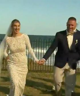 NSW Couple Go Ahead With Wedding During Bushfire Emergency