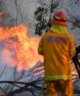 Fire Crews Brace For Extreme Fire Risk Over New Year's Eve
