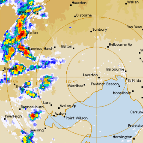 Melbourne's Thunderstorm Will Not Bring A Cool Change But Updated Forecast Reveals When It Will Come