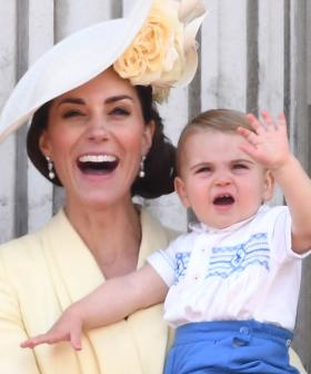Kate Middleton Reveals One of Prince Louis' 'Unusual' First Words