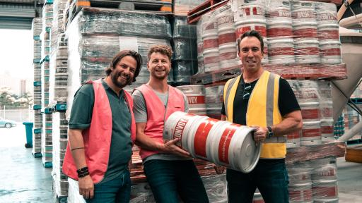 Heroes Gold Beer Goes Into Production