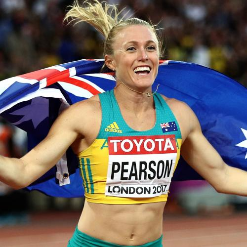 Aussie Gold Medalist Sally Pearson Announces Baby News In Cutest Way