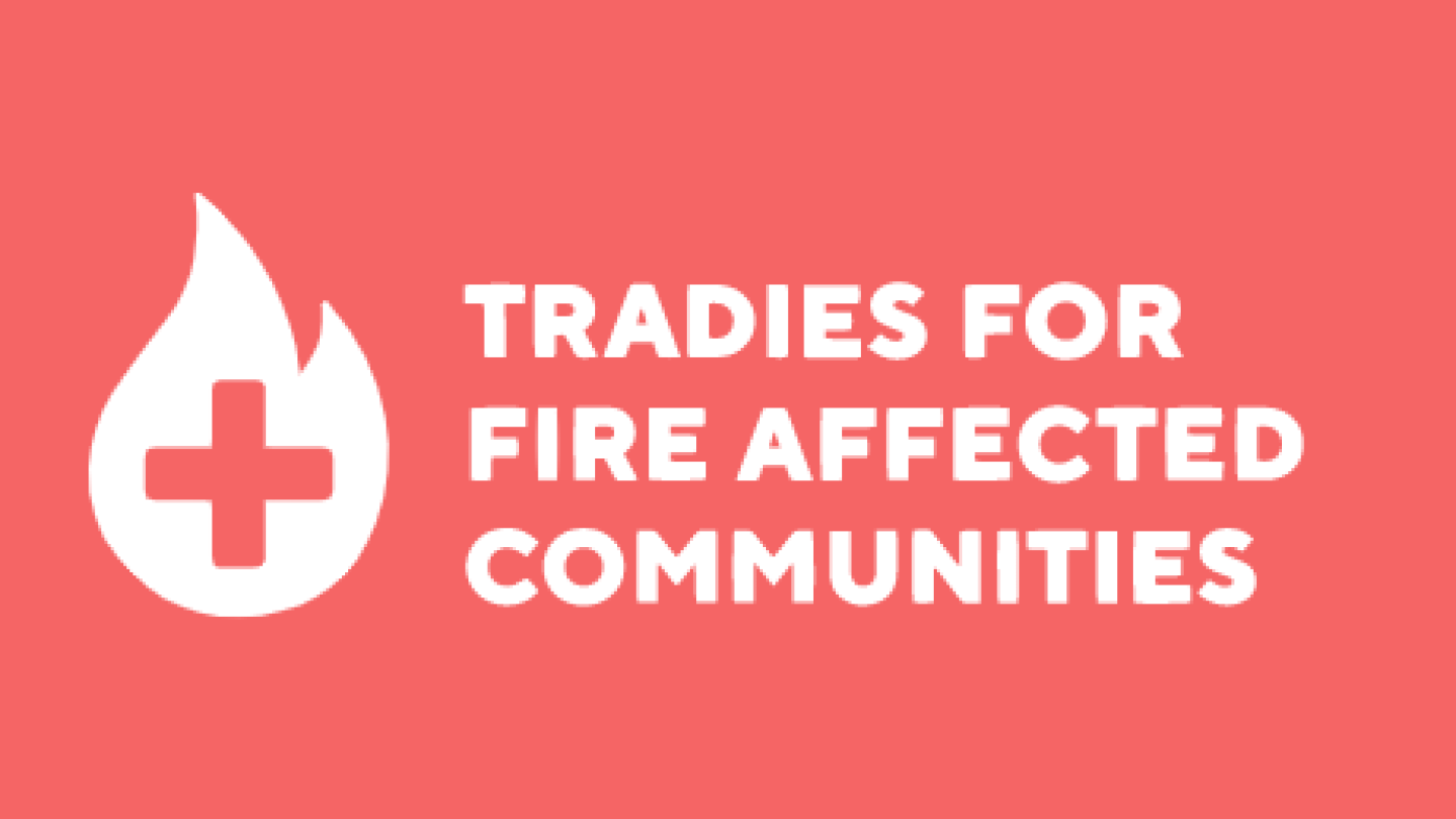 Tradies For Fire Affected Communities