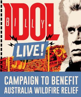 Billy Idol To Auction Off Aussie Meet & Greet Packages For Bushfire Wildlife Relief