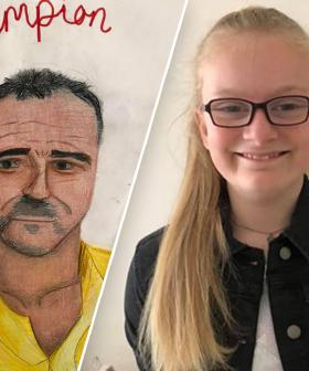 10-Year-Old Girl Auctions Off Her Firie-Inspired Artwork For Bushfire Relief Effort