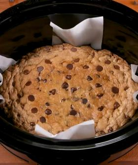 FYI You Can Make A Giant Deep Dish Cookie In Your Slow Cooker