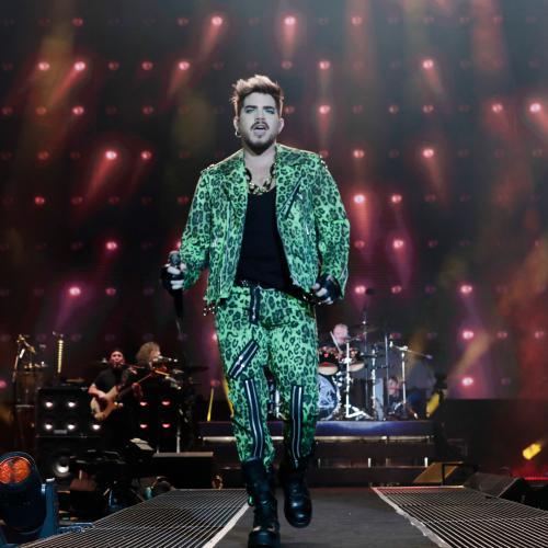 Adam Lambert And Queen Reprise 1985 Live Aid Set For Fire Fight Australia