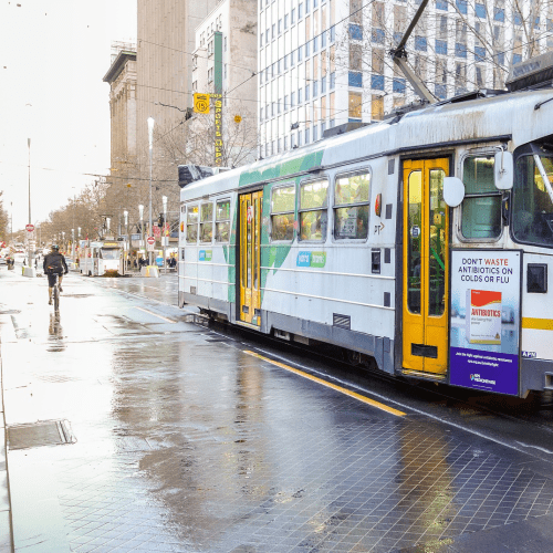 New Health Measures Are Rolling Out Across Melbourne's Trams And Busses As Soon As Possible