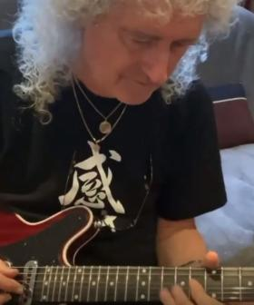 Who Better To Teach The 'Bohemian Rhapsody' Guitar Solo Than A Self-Isolating Brian May