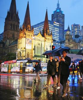 Melbourne Gets Soaked Overnight, Freeways Already Backed Up Following Major Smashes