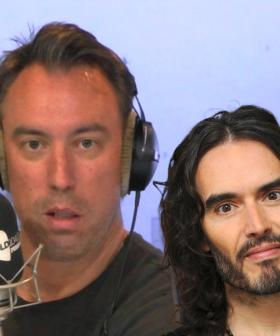 Russell Brand Sends Christian A Voice Message After He Was Denied Backstage Access