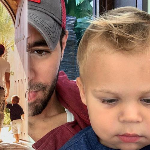 Video Of Enrique Iglesias Making His Son Giggle Is Exactly What We Need During This Tough Time