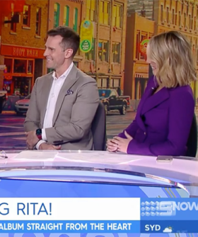 David Campbell & Tracy Grimshaw Are In QuarantineAfter Rita Wilson Visited The Channel Nine Studios