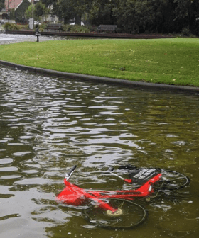 It Has Been Two Days & We're Already Dumping Uber's Version of oBikes Around Melbourne