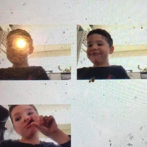 Boy Uses Photos To Pull A Fast One On His Mum & Makes Her Think He's Doing Schoolwork