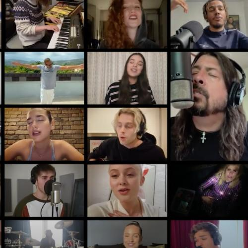 Dave Grohl, Chris Martin And MORE Join Together To Sing Beautiful Cover Of 'Times Like These'