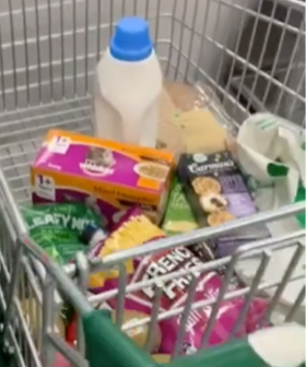 Woolworths Shopper Discovers Trollies Slide Perfectly Into Self Serve Kiosks In The Ultimate Shopping Hack
