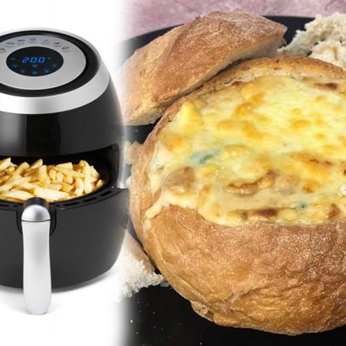 People Are Now Using Their Air Fryers To Create Cheese & Bacon Cob Loaves And It Looks Delightful