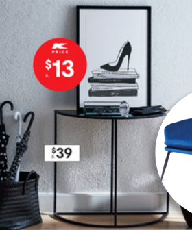 Kmart Have Revealed Their New Winter Collection Including A LUSH Two-Seater Velvet Sofa For $159!