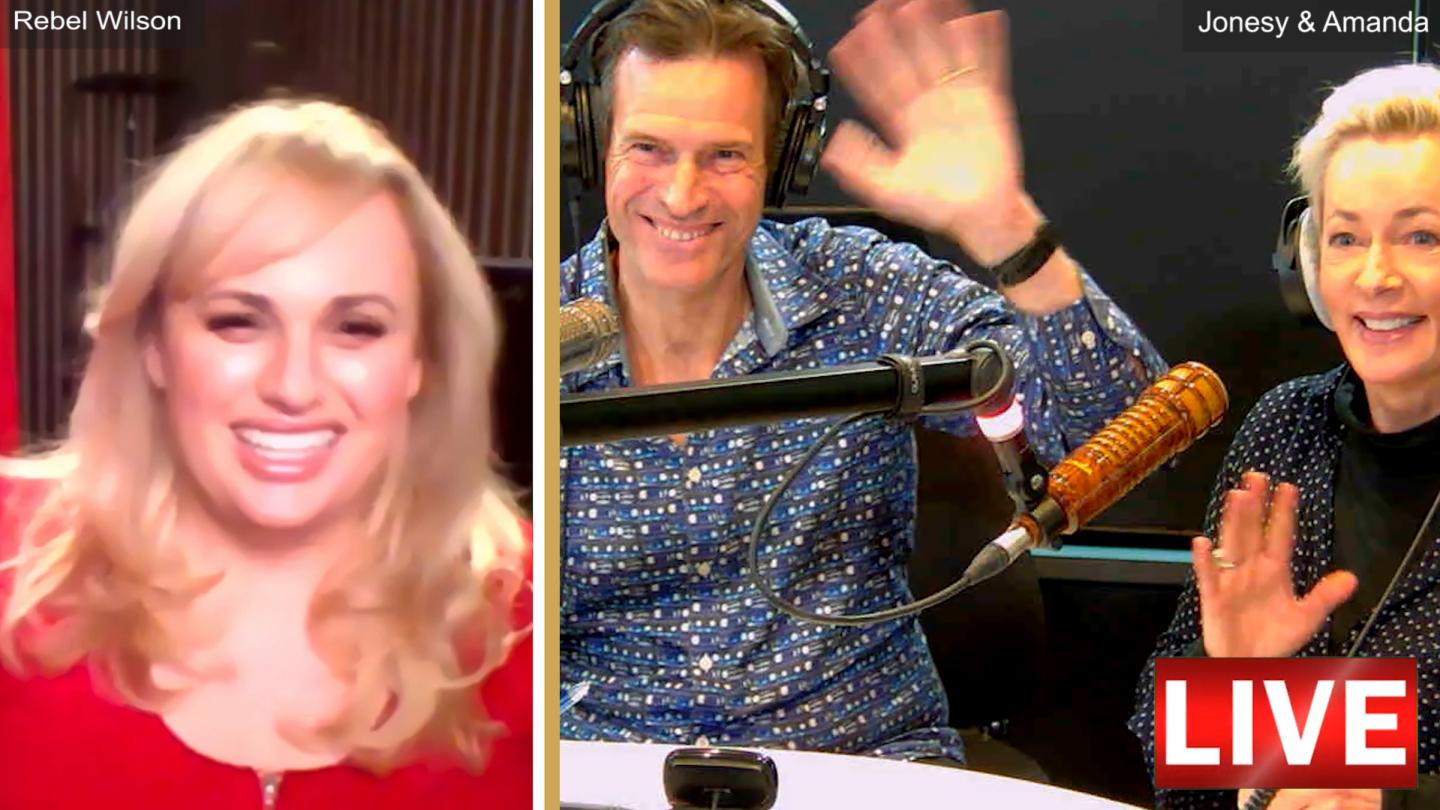 Rebel Wilson's Zoom Chat With Jonesy & Amanda