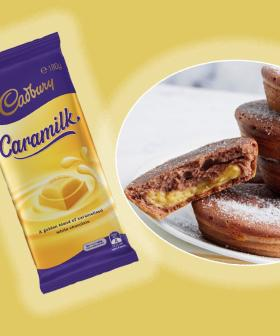 How To Make Caramilk Custard-Filled Doughnuts With Your Kmart Pie Maker