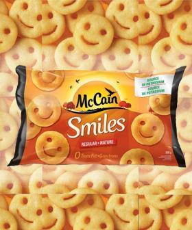McCain's Potato Smiles Are BACK In Your Freezer Aisle And There's A New Twist